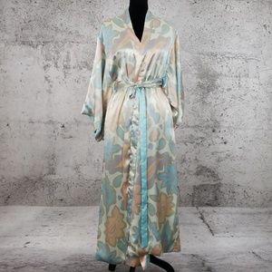 VINTAGE Kimono Robe Reversible Medium